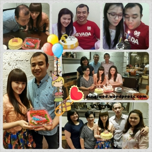 celebrate my 28th bday with family