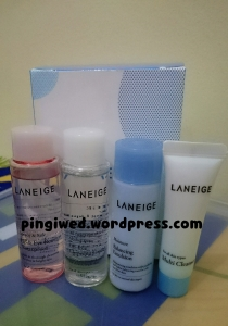 free gifts from Laneige