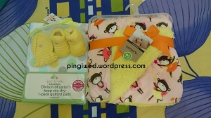perlak, cute socks set & baby blanket from Fanny