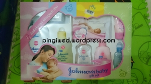 Johnson's Baby set from Derry