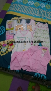 cute socks, teether, manicure set & abju + celana from Aina