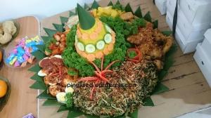 tumpeng yummy!!