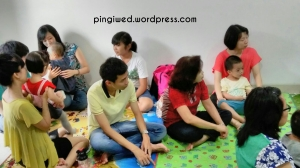 salah satu foto suasana pas doa en khotbah
